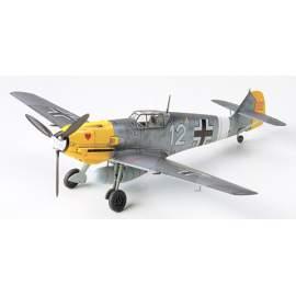 Tamiya 1:72 MESSERSCHMITT BF109E-4/7 repülő makett