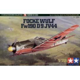 Tamiya 1:72 Focke-Wulf Fw190 D-9 JV44 repülő makett