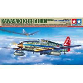 Tamiya 1:48 Kawasaki Ki-61-id Hien repülő makett