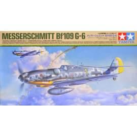 Tamiya 1:48 Messerschmitt Bf 109 G-6 repülő makett
