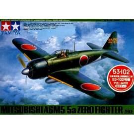 Tamiya 1:48 A6M5 Zero (Zeke) 53-102 repülő makett