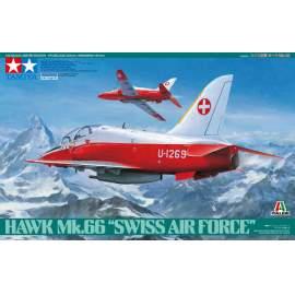 Tamiya 1:48 Hawk Mk.66 Swiss Air Force repülő makett