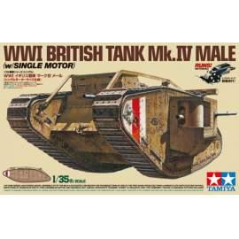 Tamiya 1:35 Br. Mk.IV Male (1 Motor) harcjármű makett