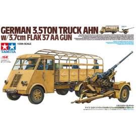 Tamiya 1:35 German3.5ton Truck AHN w/3.7cm Flak 37 AA Gun