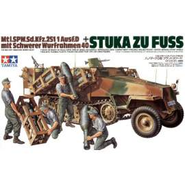 Tamiya 1:35 German Sd.Kfz.251/1 Ausf.D With Side Rocket Launchers