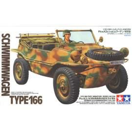 Tamiya 1:35 Schimmwagen type 166 harcjármű makett