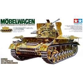 Tamiya 1:35 Mobelwagen 3.7cm Pz.IV harcjármű makett