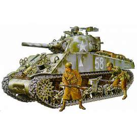 Tamiya 1:35 M4A3 Sherman 105mm Howitzer Assualt Support