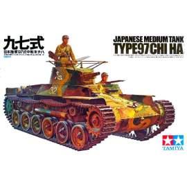 Tamiya 1:35 Japanese Tank Type 97 harcjármű makett