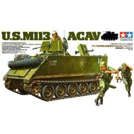 Tamiya 1:35 M113 ACAV harcjármű makett