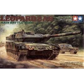 Tamiya 1:35 Leopard MBT 2 A6 Main Battle Tank harcjármű makett