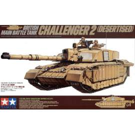 Tamiya 1:35 British Challenger 2 Iraq (Desertised version) harcjármű makett
