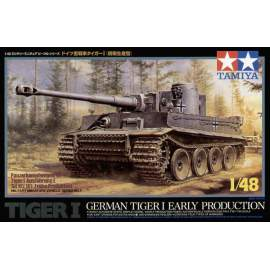Tamiya 1:48 Pz.Kpfw.VI Tiger I Early Production harcjármű makett