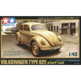 Tamiya 1:48 VW/Volkswagen Type 82E Staff Car harcjármű makett