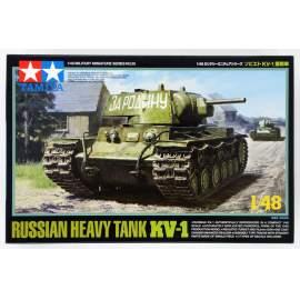 Tamiya 1:48 Russian KV-1 harcjármű makett