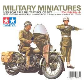 Tamiya 1:35 U.S. Military police set figura makett
