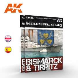 Modelling Full Ahead 3. Bismarck & Tirpitz