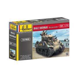 """Heller 1:72 M4A2 Sherman """"Division Leclerc"""" (deco.FR)"""