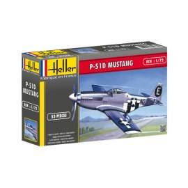Heller 1:72 North American P-51 Mustang