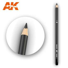 Fekete színű akvarell ceruza - Watercolor Pencil Black