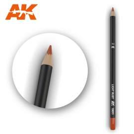Világos rozsda színű akvarell ceruza - Watercolor Pencil Light Rust