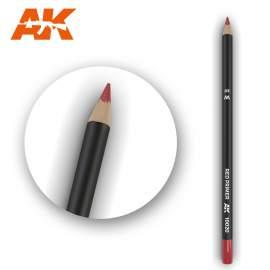 Vörös színű akvarell ceruza - Watercolor Pencil Red Primer