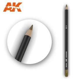 Bronz színű akvarell ceruza - Watercolor Pencil Bronze