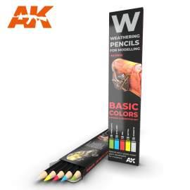 BASICS akvarell ceruza szett