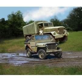 Revell 1:72 M34 Tactical Truck&Off Road Vehicle harcjármű makett