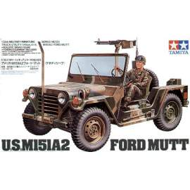 Tamiya 1:35 US M151A2 Ford Mutt harcjármű makett