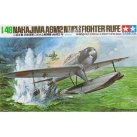 Tamiya 1:48 Nakajima A6M2-N Type 2 Rufe repülő makett