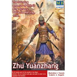 Masterbox 1:24 Zhu Yuanzhang. The founding emperor of China´s Ming dynasty
