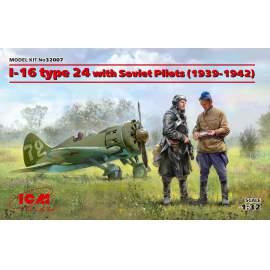 ICM 1:32 I-16 type 24 with Soviet Pilots (1939-42)