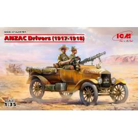 ICM 1:35 ANZAC Drivers (1917-1918) (2 figures)