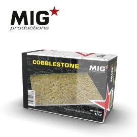 MIG Productions 1:35 Detroyed Cobbled Section