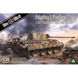 Das Werk 1:35 Panther Ausf.A late (2 in 1) harcjármű makett