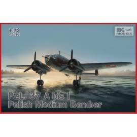 IBG 1:72 PZL. 37 A bis Łoś  – Polish Bomber Plane