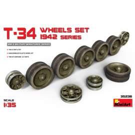 Miniart 1:35 T-54 Wheels Set Early Type