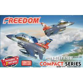 Freedom model kit Compact Series ROCAF F16A 21st Squadron at Luke Base and