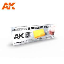 AK Interactive Carving tools box