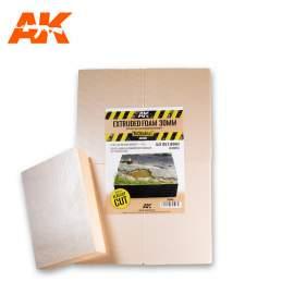AK Interactive Extruded foam 30mm A4 size (méretre vágott)