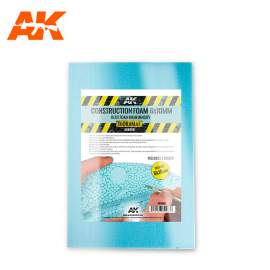 AK Interactive Construction foam 6mm and 10mm in 195X295mm size