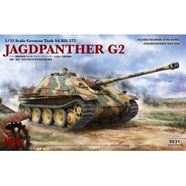 Ryefield model 1:35 Jagdpanther G2 with workable track link