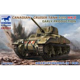 Bronco Model 1:35 Canadian Cruiser Tank Ram MK.II Early Production