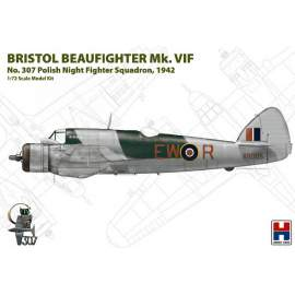 Hobby 2000 1:72 Bristol Beaufighter Mk.VIF (ex Hasegawa)