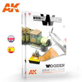 Worn art collection 01. Wooden