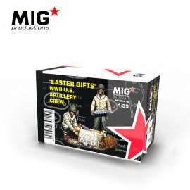 "MIG Productions 1:35 ""Easter Gifts"". WWII U.S. Artillery Crew"