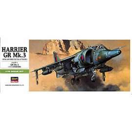 Hasegawa 1:72 Harrier Gr.Mk.3