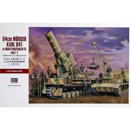 Hasegawa 1:72 54 cm Karl / Munitionspaz