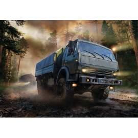 """Zvezda 1:35 """"Mustang"""" 6X6 truck (Kamaz)"""